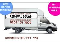 PROFESSIONAL, UNBEATABLE PRICES ON MAN & VAN, REMOVALS, INSTANT ONLINE QUOTE, UK & EUROPE 24/7 (TC)