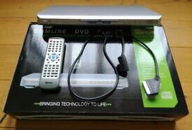 Tevion Vision Slimline DVD Player: TSDVD1300 Boxed Remote Electrical Goods TV Goods: CHRISTMAS