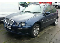 Rover 25 IXL. 1.6 petrol. 5 door. Top spec. Long Mot.