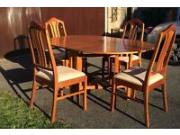 Set of Dining Room table & Chairs