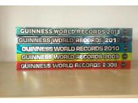 Collection of Guinness world record books