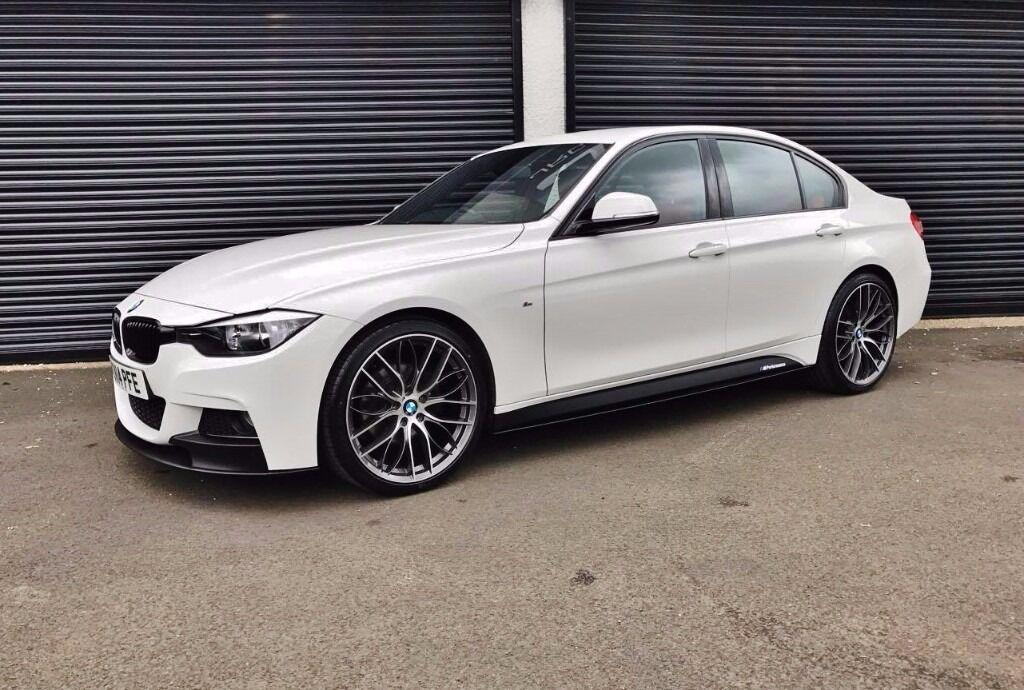 2014 BMW 320D M SPORT M PERFORMANCE KIT *LOW MILES* RED ...