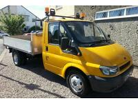 Ford Transit three way tipper full MOT
