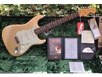 2005 Greg Fessler Master Design 1964 Custom Shop Fender Stratocaster Relic Gold Sparkle & OHC