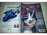 Vintage Guitarist magazine Featuring Phil Collen June 1992