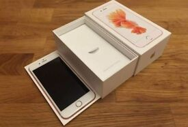 Apple iPhone 6s Rose Gold Boxed, Unlocked (Has Headphone Jack) - Buy From UK Trusted Seller.