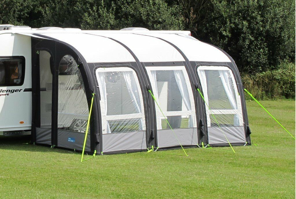 Kampa Air Pro 390 Inflatable Caravan Porch Awning In