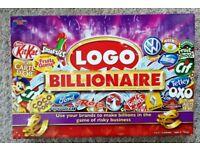 LOGO BILLIONAIRE BOARD GAME - can post