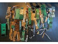 Joblot parts spares for TVs and electrical items