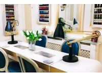 Fully equipped nail/pedicure space to rent