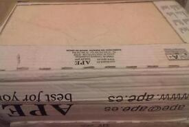 2 boxes of ceramic wall tiles £17
