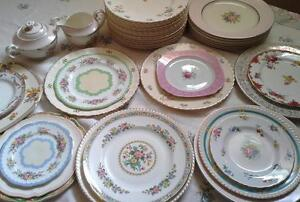 *Beautiful Vintage plates, tea cups and tableware rentals* Windsor Region Ontario image 3