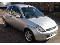 Ford Sport KA Silver - 2004 - 59k miles - MOT UNTIL MARCH 2019 - Bargain at £500