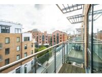 LARGE 1BED ** BALCONY ** PRIVATE ROOF TERRACE ** FURNISHED ** BOW ** CONCIERGE **