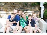 Central London live-in au pair / nanny (St Johns Wood NW8). Excellent pay. Driving licence required