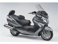 suzuki 650 burgman scooter 09 model