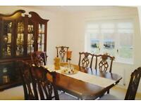 Full dining room set - Chairs , Dining table , Dining unit , Cabinet