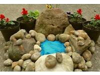 Garden ROCKS for pond or ROCKERY Cardiff delivery available