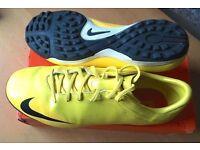 NIKE MERCURIAL VAPOR V FOOTBALL BOOTS - VIBRANT YELLOW 10UK Size 10 uk