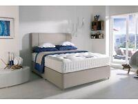 Harrison Libeccio 4'6 T/E Divan Bed from Arthur Llewellyn Jenkins £150