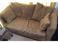 Sofa Bed 2 Seater and Cushions