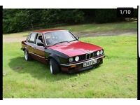 BMW E30 316 WAS 2.8 CONVERSION ROLLING SHELL /DRIFT /TRACK /PROJECT *updated reduced*