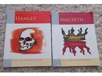 Oxford School Shakespeare Books - Hamlet and Macbeth