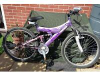 Ladies Dual Suspension Mountain Bike
