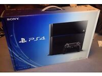 PS4 Console Boxed + Receipt with 6 months Warranty left