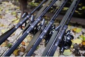 Carp Fishing Rods x3..Shimano TX2