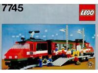1980 RARE VINTAGE 12V LEGO 7745 HIGH SPEED TRAIN 1980 RARE VINTAGE 12V LEGO 7745 HIGH SPEED TRAIN.
