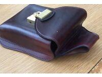 Unused Pure Hide Leather,Male/female Belt bag with combination Lock,Ex cond,Original price £55.00
