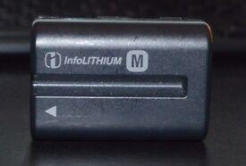 Sony Battery - NP-FM500H - infoLITHIUM