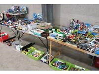 Lego sets and figures for sale at Stroud marjet