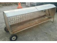 8ft hay feeder rack for sheep calf's stables etc two available