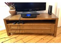 *Wooden TV Bench / Console Unit Good Condition*