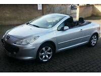 Peugeot 307 Convertible (with remote control roof activation)