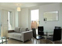 1 bed in BROMLEY BY BOW with gym and concierge, right next to STATION available JULY-TG