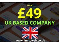 Website Design and Mobile App Development | Central London | E Commerce Web Development | UK Based