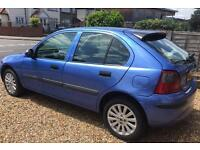 Rover 25 very clean 1 year MOT only 625 ONO