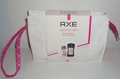 Axe Anarchy For Her Geschenkset Deo Body Spray & Shower Gel + Washbag