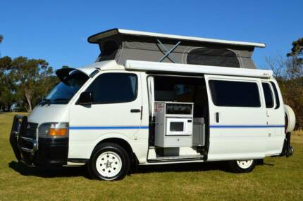 Toyota Automatic Frontline Campervan with Rear Shower & Low Km!