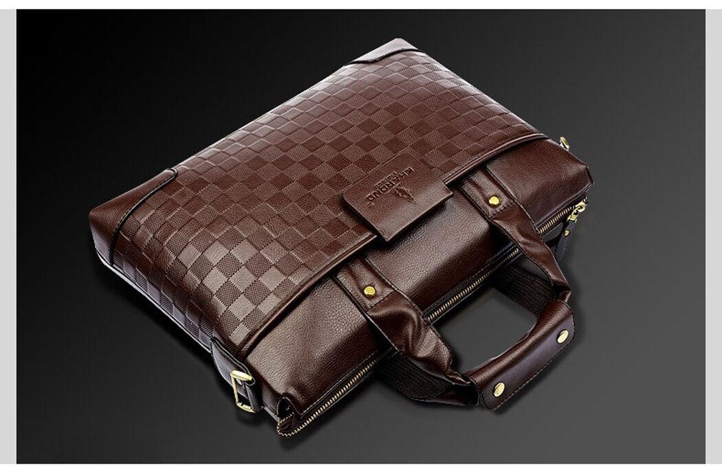 sac sacoche homme luxe porte document ordinateur portable. Black Bedroom Furniture Sets. Home Design Ideas