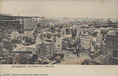 Chile Antofagasta Movimiento En El Malecon Brandt N 692