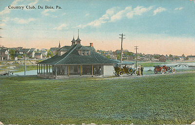 Dubois Pa   Country Club  1913   Clearfield Co