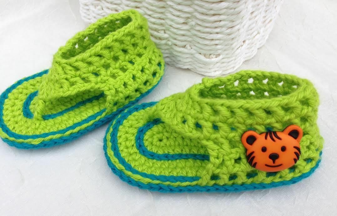 Crochet Baby Booties-Very Cute Crochet Mesh Sandals for Baby Boy-size 9-12months