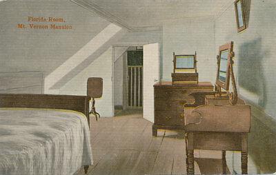 Mt. Vernon VA * Florida Room Interior View c1908  Washington-Virginia Rwy. #20