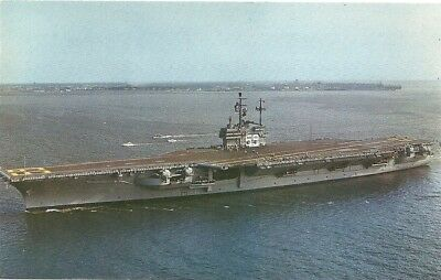Postcard USS Forrestal Aircraft Ship Boat for sale  Stockton