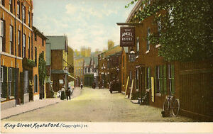 KNUTSFORD-Cheshire-King-Street-inc-Angel-Hotel-BUTLER