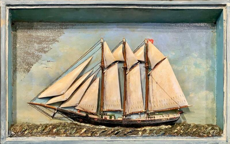c. 1890 Maritime Province Diorama